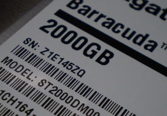 st3000dm001 ファームウェア ロック解除